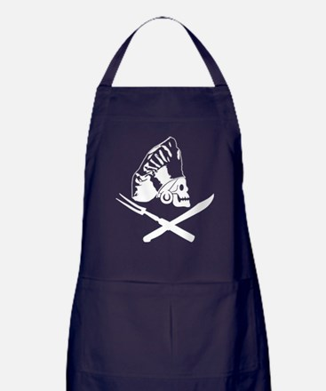 Cute Pirate cook Apron (dark)