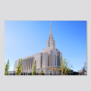 LDS Oquirrh Mountain Temple Postcards (Package of