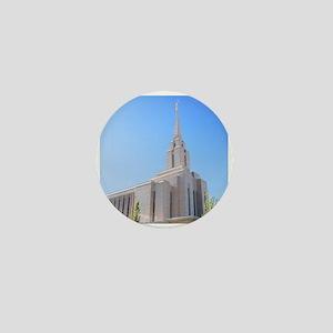 LDS Oquirrh Mountain Temple Mini Button
