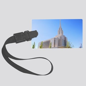 LDS Oquirrh Mountain Temple Luggage Tag