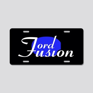 Love My Fusion Aluminum License Plate