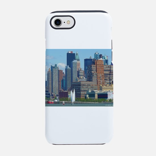 Midtown Manhattan Skyline iPhone 7 Tough Case