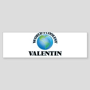 World's Coolest Valentin Bumper Sticker