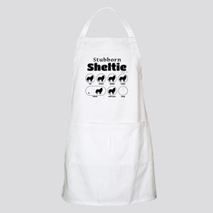 Stubborn Sheltie v2 Apron