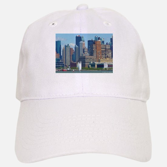 Midtown Manhattan Skyline Baseball Baseball Baseball Cap