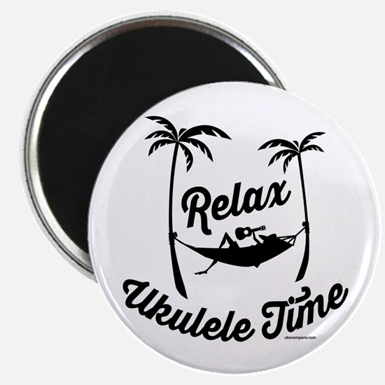 Relax Ukulele Time Magnets