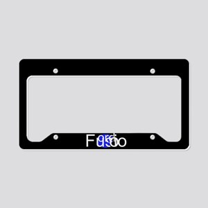 Fusion License Plate Holder