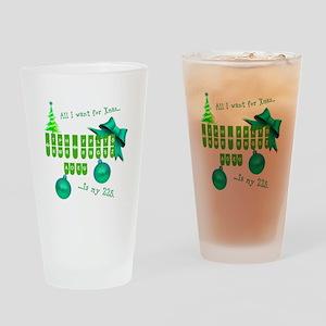 Xmas fun Drinking Glass