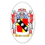 Hanham Sticker (Oval 50 pk)
