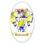 Hanger Sticker (Oval 10 pk)