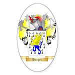 Hanger Sticker (Oval 50 pk)