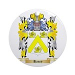 Haney Ornament (Round)