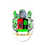 Hanel Oval Car Magnet
