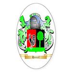 Hanel Sticker (Oval 10 pk)