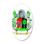 Hanel 20x12 Oval Wall Decal