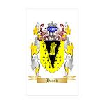 Hanek Sticker (Rectangle 10 pk)