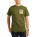 Handcock Organic Men's T-Shirt (dark)