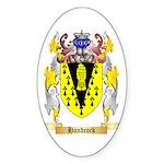 Handcock Sticker (Oval 50 pk)