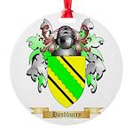Handburry Round Ornament