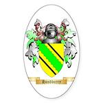 Handburry Sticker (Oval)