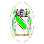 Handbody Sticker (Oval 50 pk)