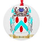 Hand 2 Round Ornament
