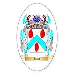 Hand 2 Sticker (Oval)