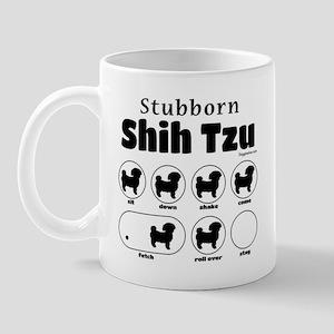 Stubborn Shih Tzu v2 Mug