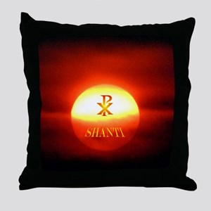 PAX SHANTI Throw Pillow