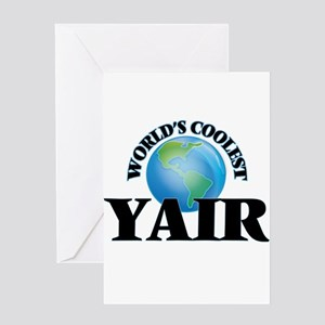 World's Coolest Yair Greeting Cards
