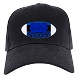 Blue Black Personalized Baseball Hat