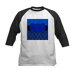 Blue Black Personalized Baseball Jersey