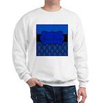 Blue Black Personalized Sweatshirt