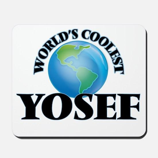 World's Coolest Yosef Mousepad