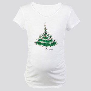 Christmas Dress Maternity T-Shirt