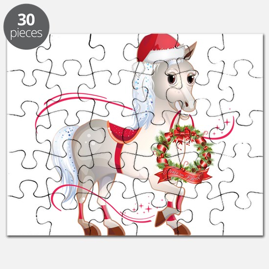 Peace on Earth Christmas Horse Puzzle