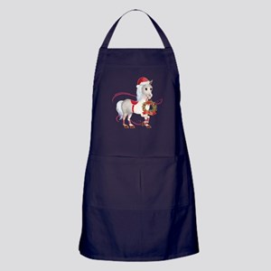 Peace on Earth Christmas Horse Apron (dark)