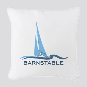 Barnstable - Cape Cod - Nautic Woven Throw Pillow