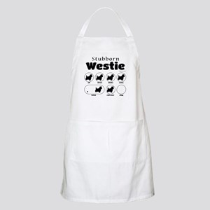 Stubborn Westie v2 Apron