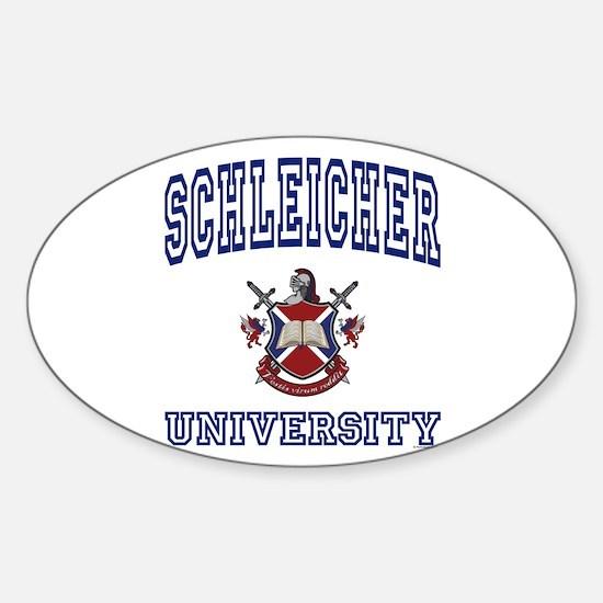 SCHLEICHER University Oval Decal