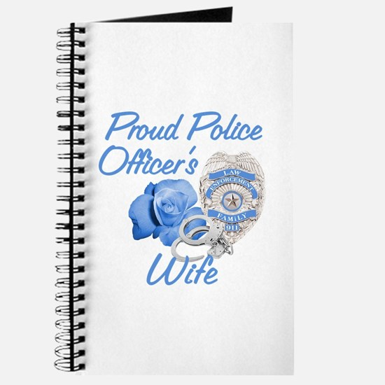 Blue Rose Police Wife Journal
