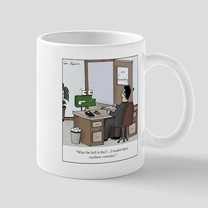 Number Cruncher 11 oz Ceramic Mug