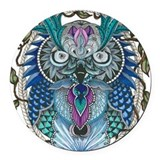 Owl Round Car Magnets