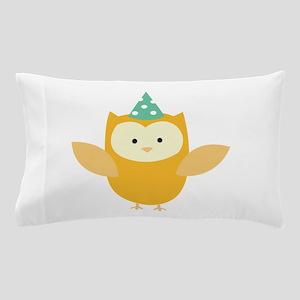 Party Owl Pillow Case
