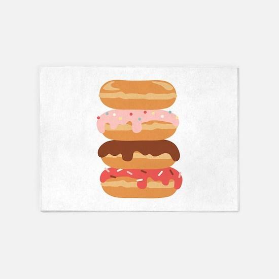 Sweet Donuts 5'x7'Area Rug