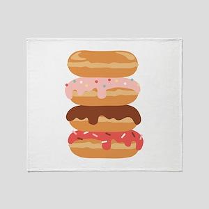 Sweet Donuts Throw Blanket