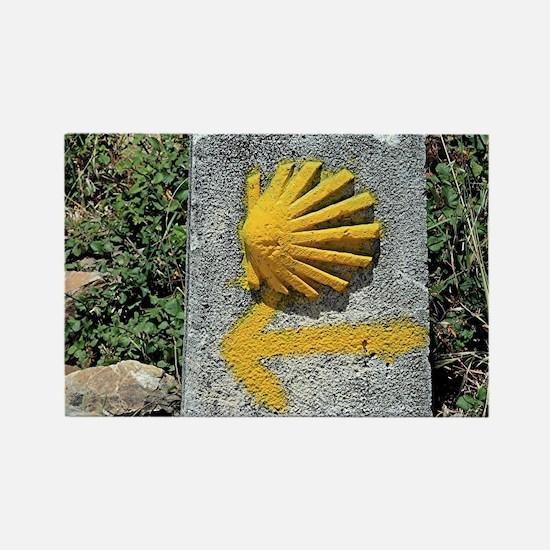 El Camino de Santiago de Compostela, Spain Magnets