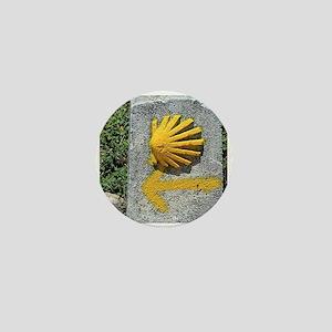 El Camino de Santiago de Compostela, S Mini Button