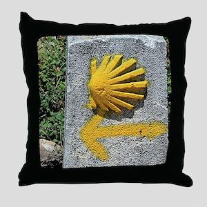 El Camino de Santiago de Compostela, Throw Pillow