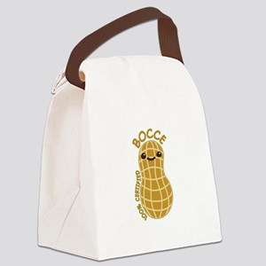 Bocce Nut Canvas Lunch Bag